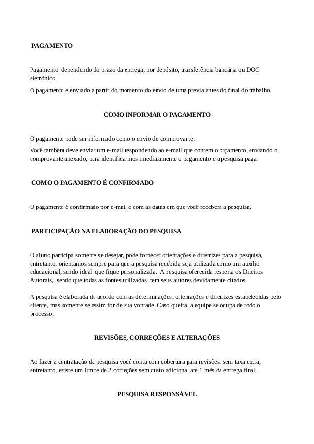 artigo, monografia e tcc por r$ 300,00 fortaleza170 Modelos De Artigos Cientificos #3