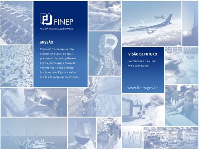 Financiadora de Estudos e Projetos              PROINFRA 2001-2010Programa Institucional de Infra-estrutura de Pesquisa da...