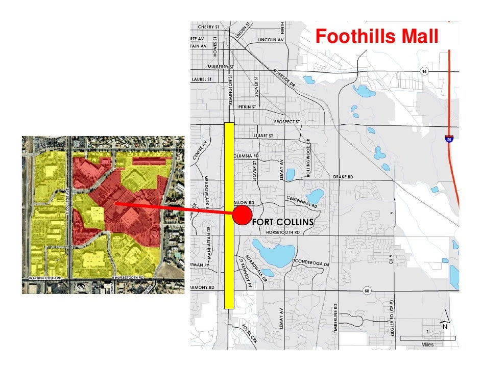 Fort Collins, CO   Mid Town Corridor (Including Foothills Mall)