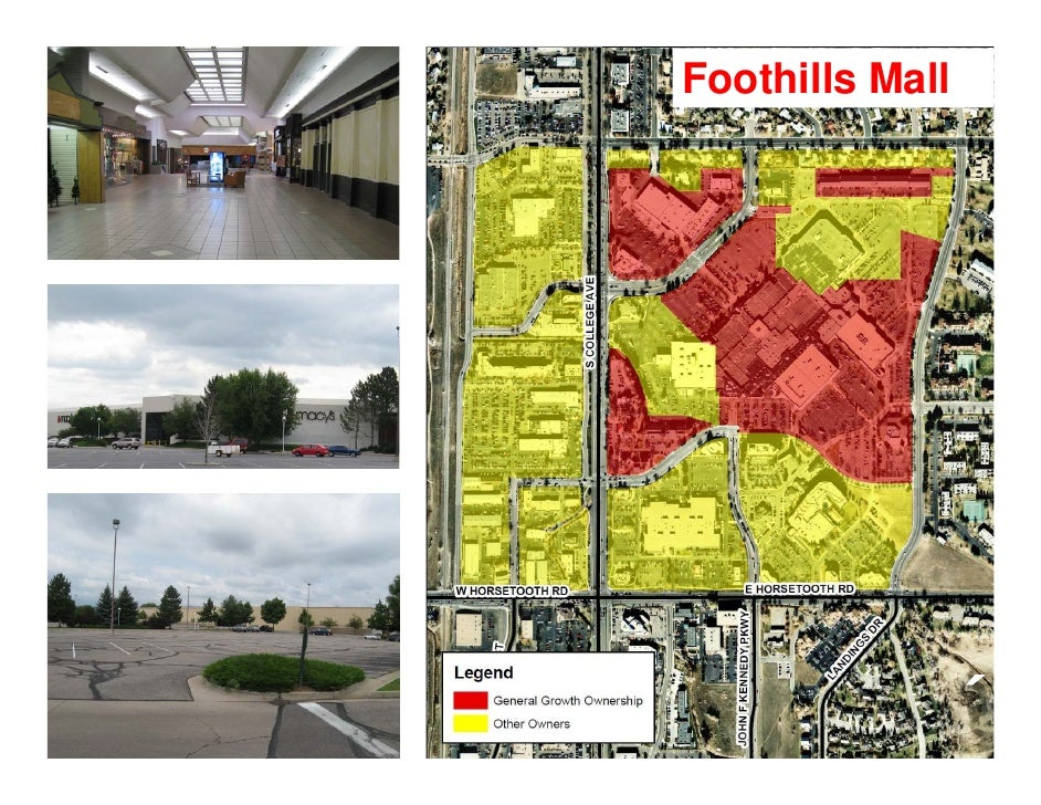 Fort Collins, CO - Mid-town Corridor (Including Foothills Mall)
