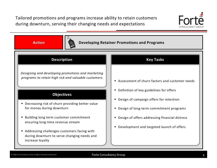 5 Weeks Marketing And Sales Action Plan for Downturn (Forte Consultan…
