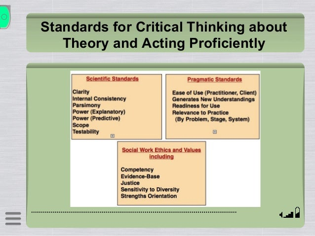 "critical thinking theory.ppt The frankfurt school and critical theory the frankfurt school, known more appropriately as critical theory,  for ferrara, what is inherent to democratic thinking is innovation and openness this notion bears conceptual similarities with what kant and arendt understood in terms of ""broad mindedness"" seyla benhabib, along similar."