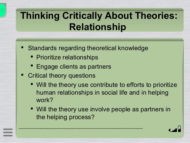 critical thinking theory.ppt An introduction to critical theory or, how there can be many possible readings to a text (accompanies critical theory handout) solve the riddle.