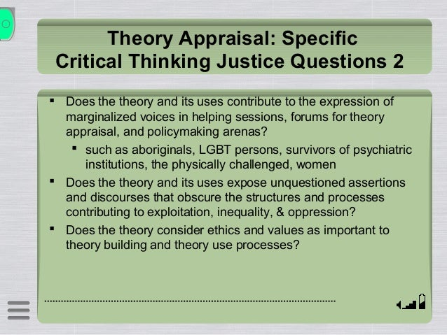 critical thinking model ethics As ethical thinking can begin through discussion at any level in the  science  contexts and to model strategies to support students' thinking in science   enhance students' critical thinking skills utilise opportunities to engage.
