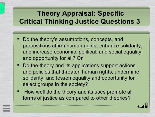 critical thinking theory and nursing education