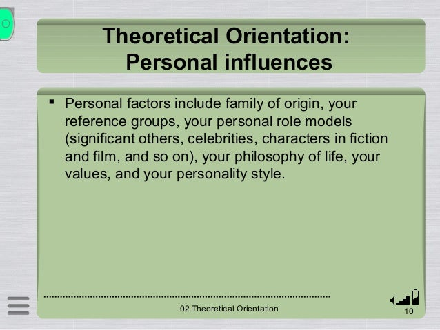 Identifying your philosophical orientation