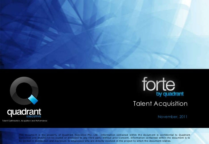 Talent Acquisition                                                                                                        ...