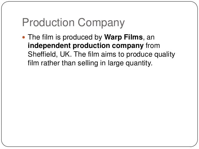 An institution  in the film industry  Definition  any company or  organisation that produces  distributes or exhibits films
