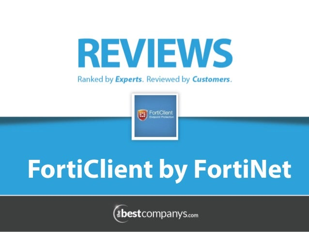 FortiClient Reviews, Antivirus Software