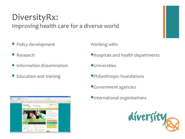 Resources and Organizations  DiversityRx