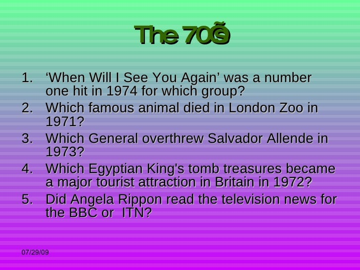 image regarding 90s Trivia Questions and Answers Printable named Nineteen forties in direction of Noughties Quiz