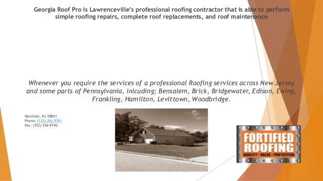 Fortified Roofing Nj Fortified Roofing Roofing 5144 W