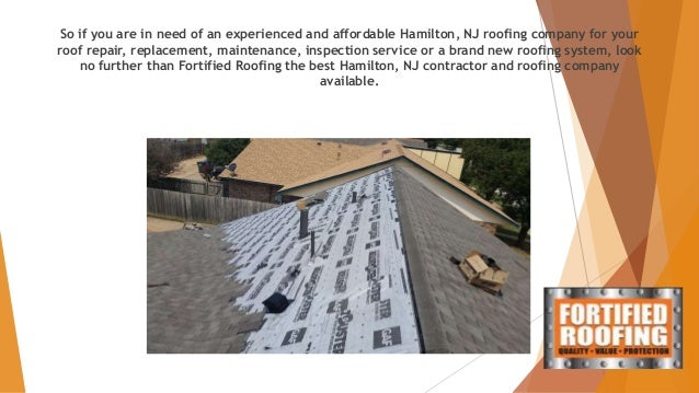 Fortified Roofing Free Roof Estimate Hamilton