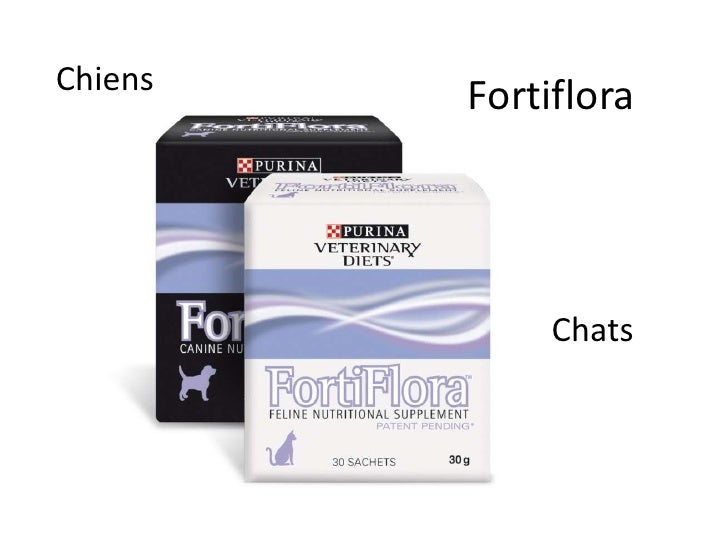 Fortiflora<br />Chiens<br />Chats<br />