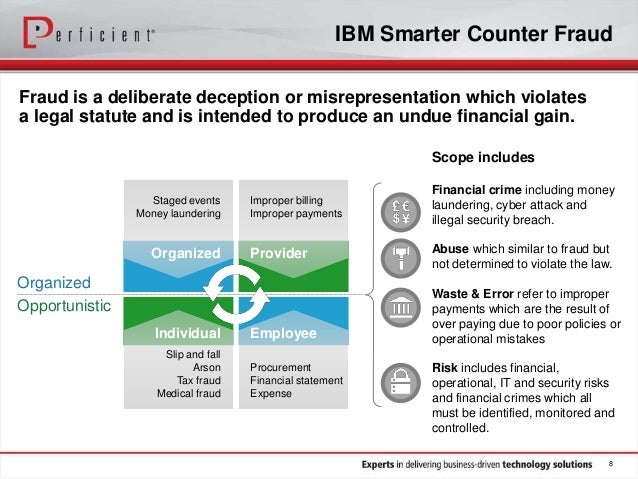 Fortify Your Enterprise with IBM Smarter Counter-Fraud ...