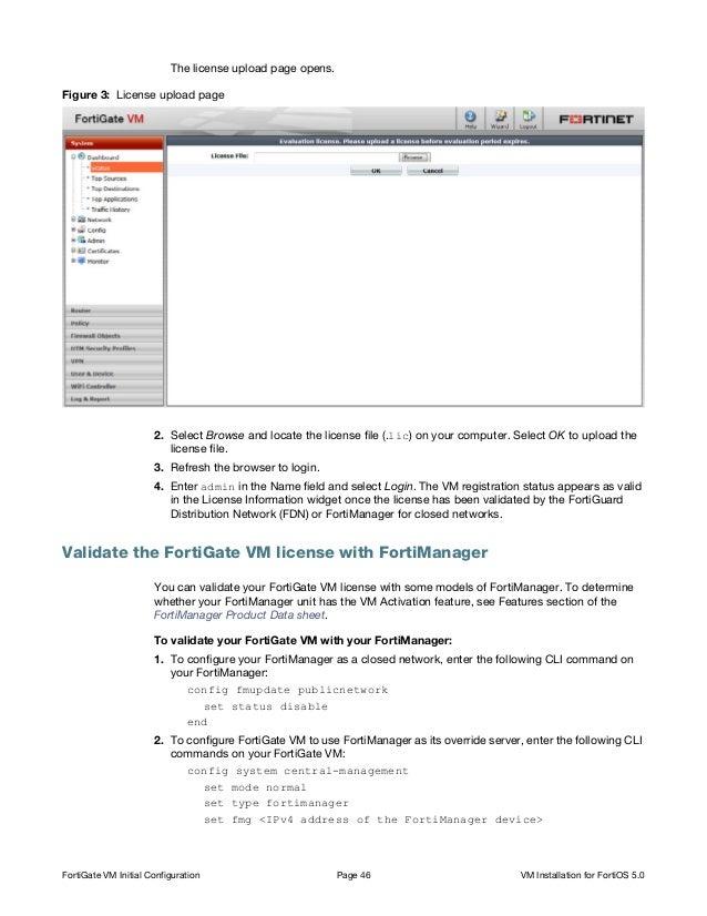 Fortigate vm-install-50
