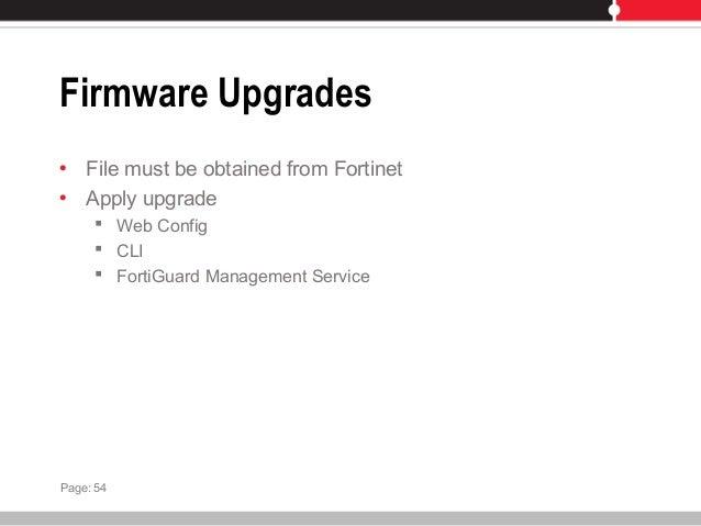Fortigate 60 Firmware Upgrade - slidefreedom