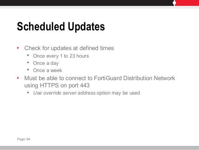 Fortigate manual antivirus Update