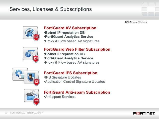 Fortinet FortiOS 5 Presentation