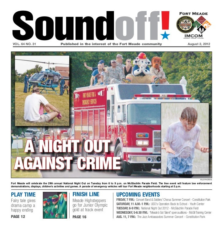 Soundoff! vol. 64 no. 31	                       Published in the interest of the Fort Meade community	                    ...
