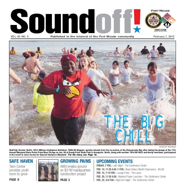 Soundoff! vol. 65 no. 5	                            Published in the interest of the Fort Meade community	                ...