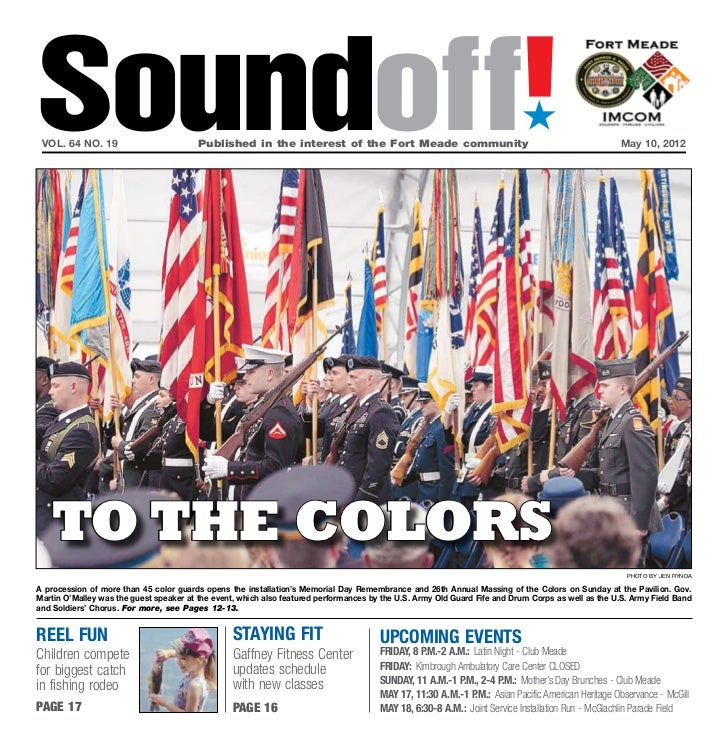 Soundoff! vol. 64 no. 19                         Published in the interest of the Fort Meade community                  ...