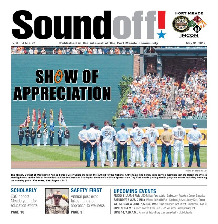 Soundoff! vol. 64 no. 22                          Published in the interest of the Fort Meade community                 ...