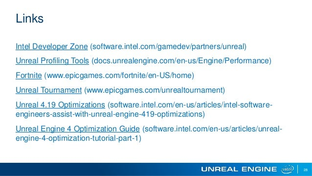Forts and Fights Scaling Performance on Unreal Engine*