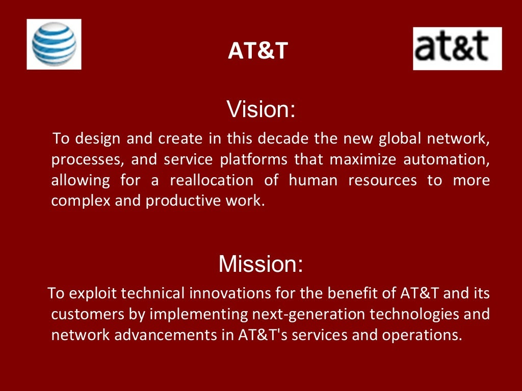 at&t vision: to design and