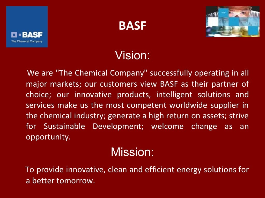 chemical vision Nova chemicals will be a recognized leader in our markets we will realize our vision by: investing in people, technology, and assets upholding the principles of responsible care ®.