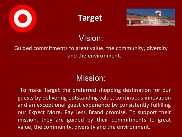 target vision  guided commitments to