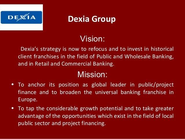 Dexia group vision dexias strategy fandeluxe Choice Image