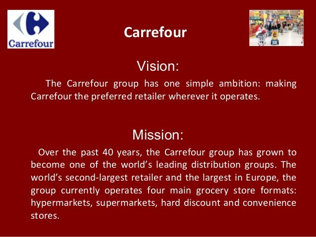 carrefour vision the carrefour group