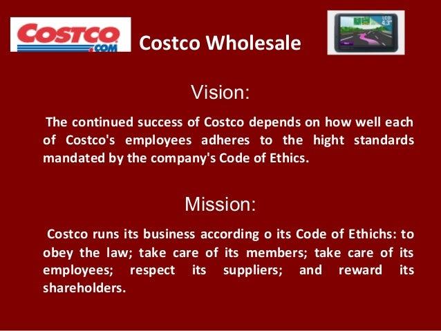 costco wholesale code of ethics