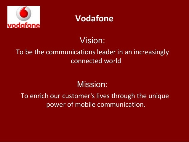 vodafone business strategy