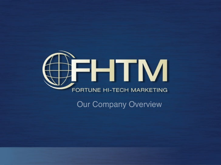 What is Fortune Hi-Tech Marketing? Which products and services do we provide? How can you earn money? How do you get start...