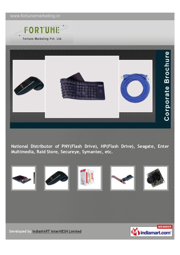 National Distributor of PNY(Flash Drive), HP(Flash Drive), Seagate, EnterMultimedia, Raid Store, Secureye, Symantec, etc.