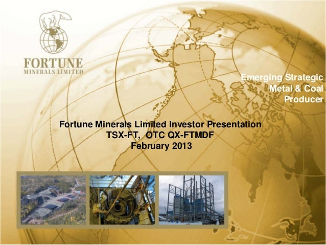 Emerging Strategic                                              Metal & Coal                                              ...