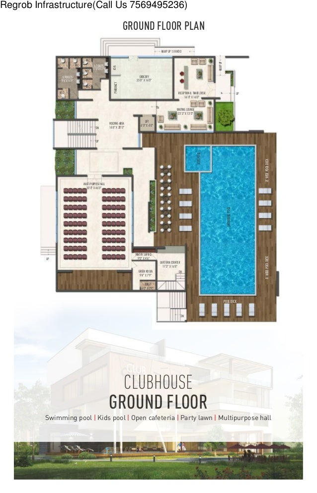 Fortune Prime Madhapur Hyderabad Brochure – Swimming Pool Site Plan