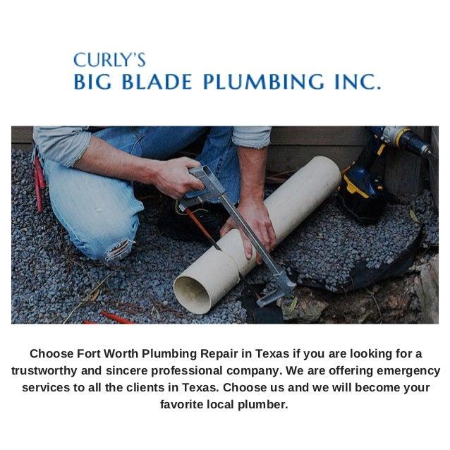 Fort Worth Plumbing Repair In Texas