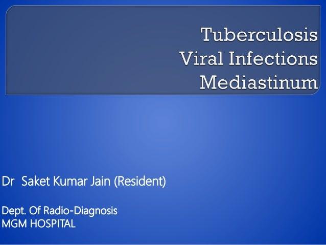 Dr Saket Kumar Jain (Resident) Dept. Of Radio-Diagnosis MGM HOSPITAL