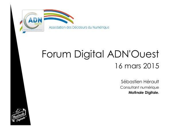 """""""Tout ce que vous avez toujours voulu savoir sur le web et les réseaux sociaux... sans jamais oser le demander"""" Forum Digi..."""