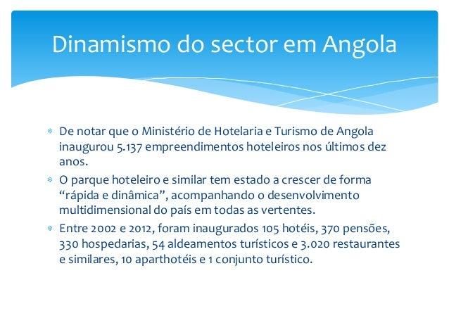 Forum do turismo de angola comunica o do prof doutor for R 1 regulamento interno e dos servicos gerais risg