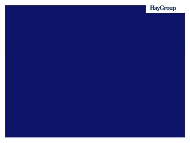 HayGroup  Since 1943