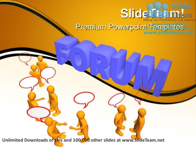 Forum communication power point themes templates and slides ppt layou premium powerpoint templates toneelgroepblik Images