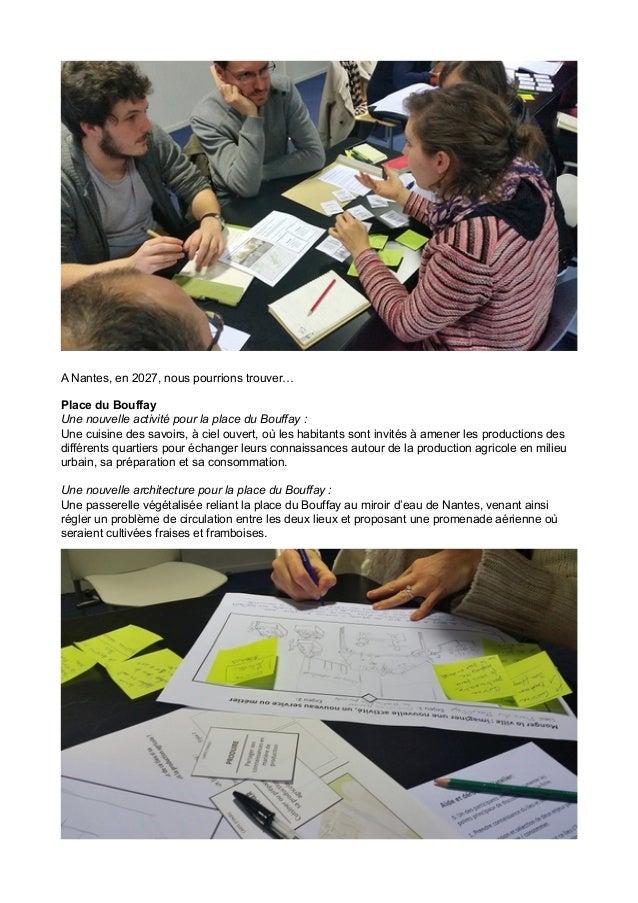 Forum Nantes ville comestible 24/01/2015 : CR des ateliers ouverts Slide 2