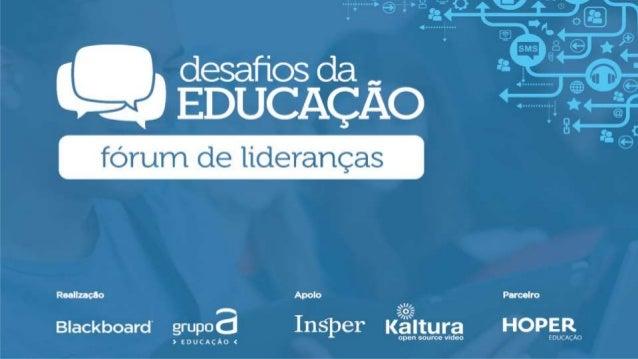 EXPERIÊNCIAS DE APRENDIZAGEM O CASO DA UNIAMÉRICA Ryon Braga