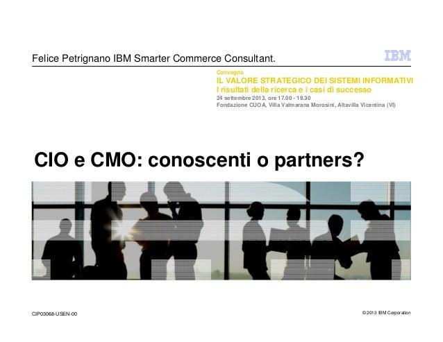 CIO e CMO: conoscenti o partners?