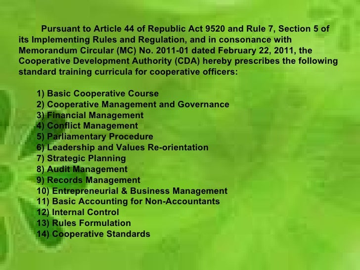 Republic act 9520