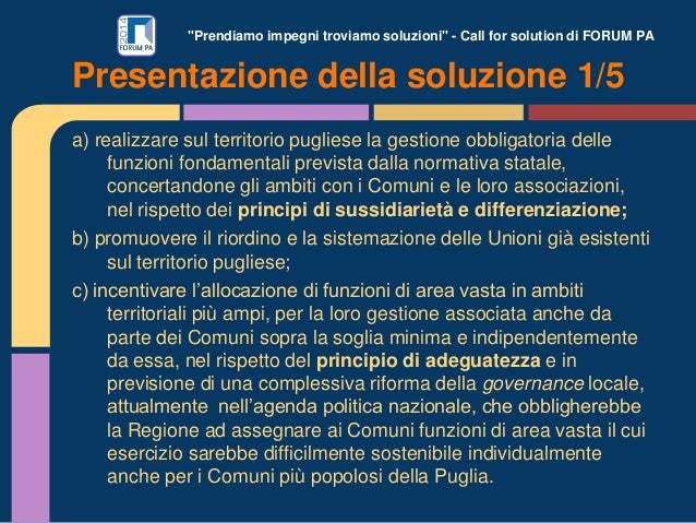 Regione Puglia Area Organizzazione - ForumPA 2014 Slide 3